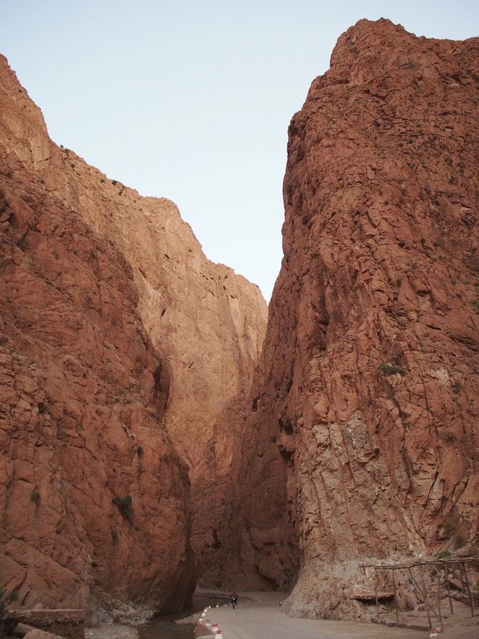最後はトドラ渓谷で少しだけ岩山を満喫