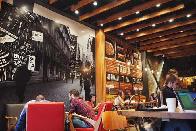 少し観光してからはカフェでまったり イスタンブールの新市街には素敵なカフェがたくさん
