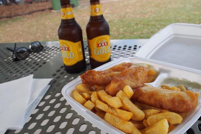 オーストラリアで1番おいしかったフィッシュアンドチップスはヌーサのフィッシュアンドチップス♡