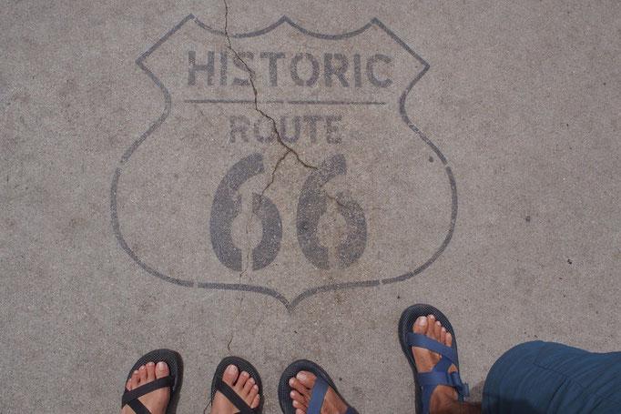 グランドサークルを巡る旅が終わり 帰り道はウィリアムからキングマンまでルート66を通って