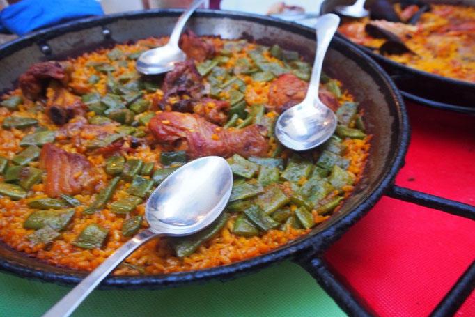 バレンシアはパエリア発祥の地  パエリアの種類もたくさんでどれもおいしかった...♡