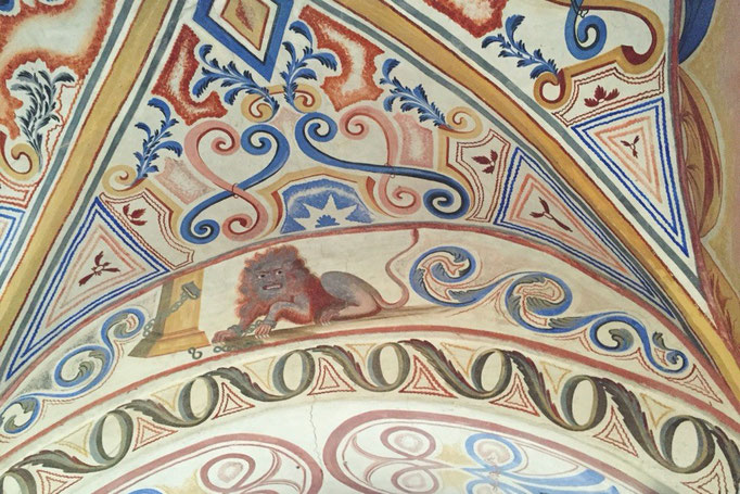 全体的に観ると迫力を感じてしまうリラの僧院の作品達は 1つ1つを見るとかなりゆるい雰囲気の脱力系