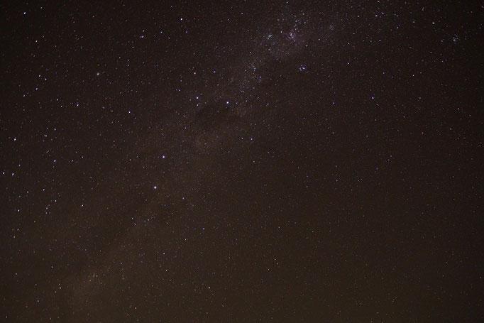 ある日の星空 旅をするようになって 天の川を毎日見られる場所があることを知りました