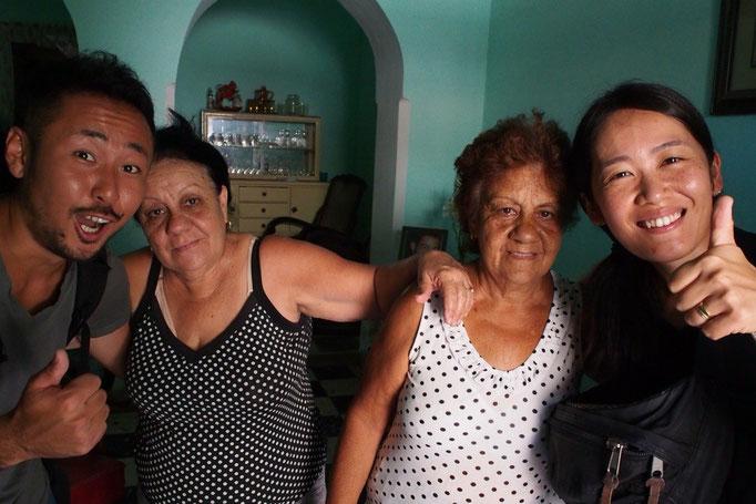 カサでお世話になった2人のお母さん ママルイサとママナンシー