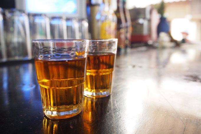 ハバナクラブのストレート ラムは強いお酒のイメージだったけれど深い味わいでおいしい♡