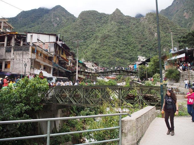 アグアスカリエンテスの様子 村にはその名の通り温泉があり 最初の村長さんは日本人の方だったそう