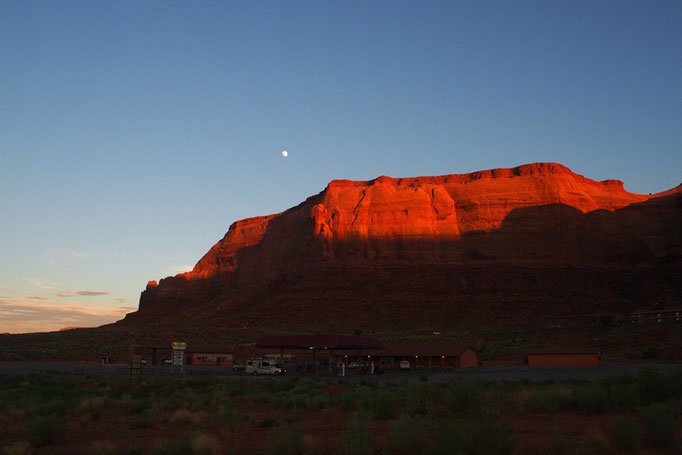 アメリカの原風景とも言われる場所で 自然の力強さと美しさを感じました