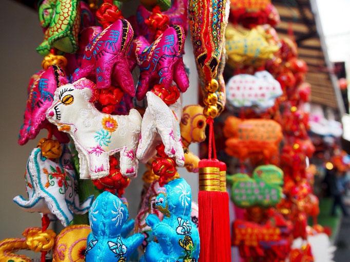 かわいい中華系の飾りを見つけて。 世界にはかわいいものがたくさん。