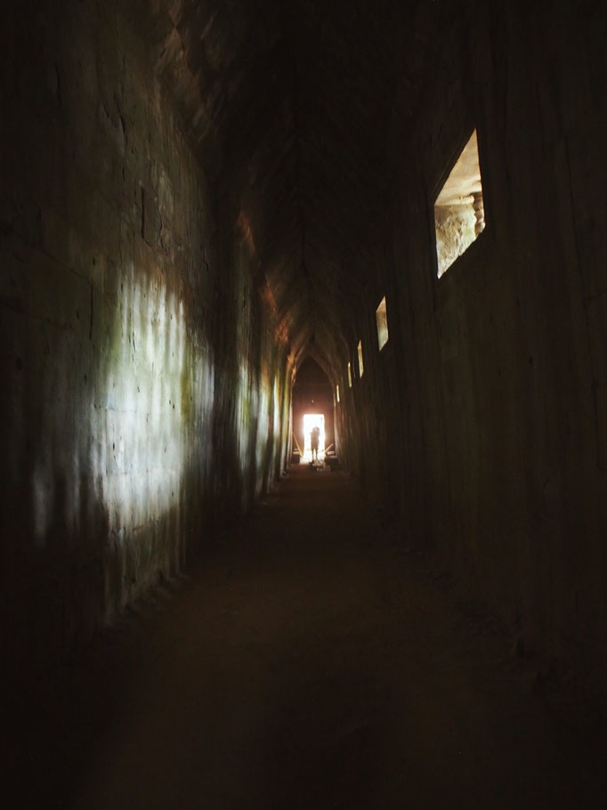 探検しているような気持ちになるベンメリア 2人とも アンコール遺跡の中で 1番好きな場所になりました