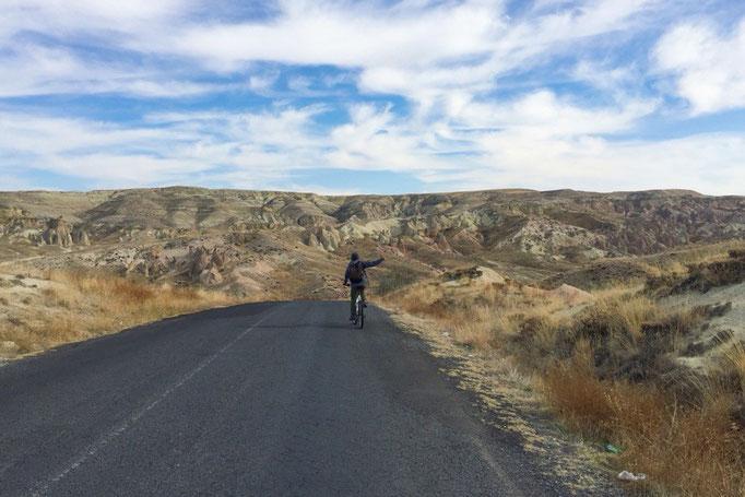 この日はレンタル自転車を借りて 2人で久しぶりのサイクリングにお出かけ