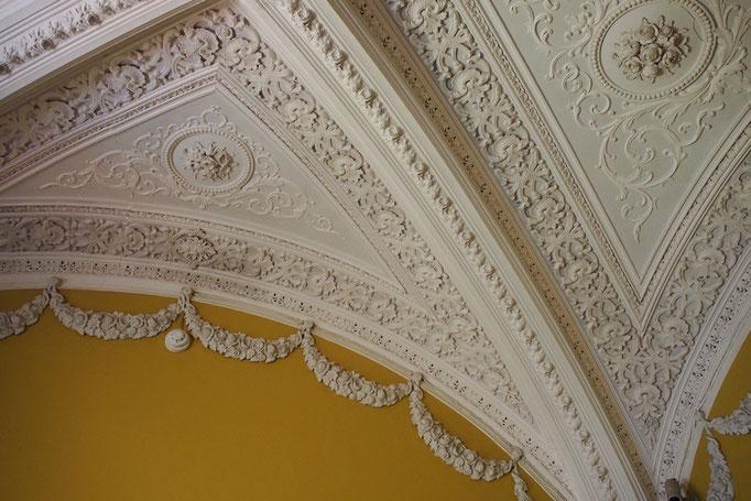 ペーナ宮殿の内部に入ってみると いたる所に細かな装飾が