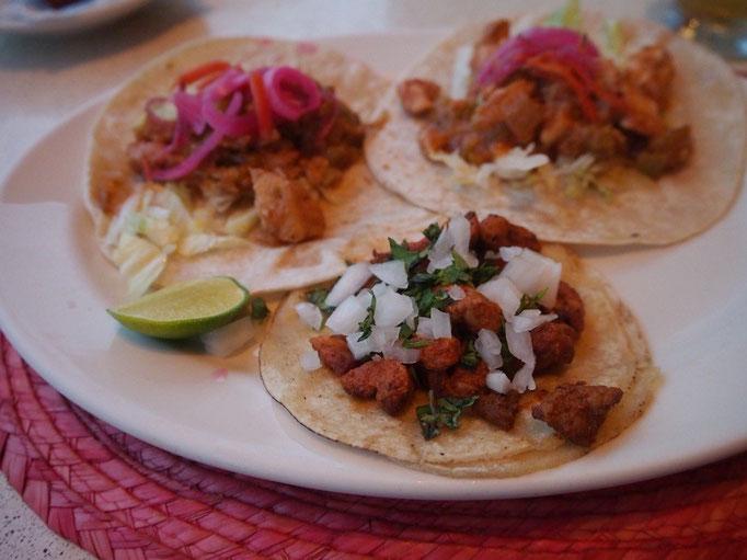 メキシコに来てからはタコスがおいしくて どこに行ってもタコスばかり食べる日々