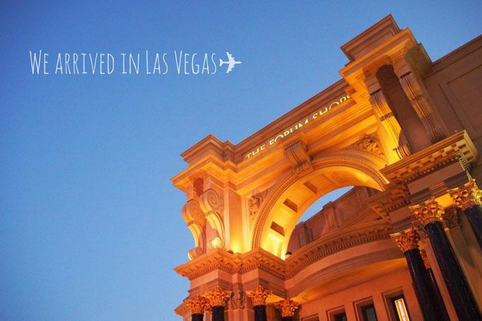ラスベガスへ到着 久しぶりに来たアメリカはさすが先進国 やっぱり大都会