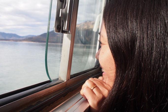 エルカラファテではロスグラシアレス国立公園内にあるペリトモレノ氷河へ向かうツアーへ参加
