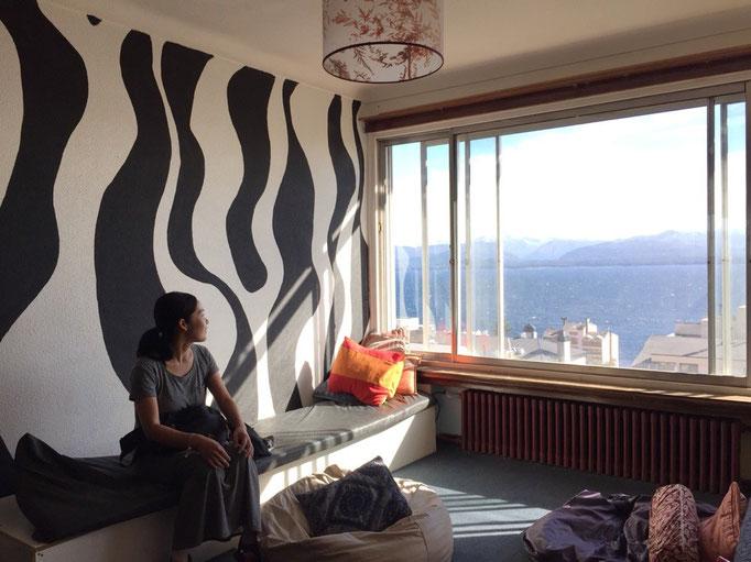 バリローチェのホステルはどこもきれいでおしゃれ 居心地のよいスペースもあって快適♡
