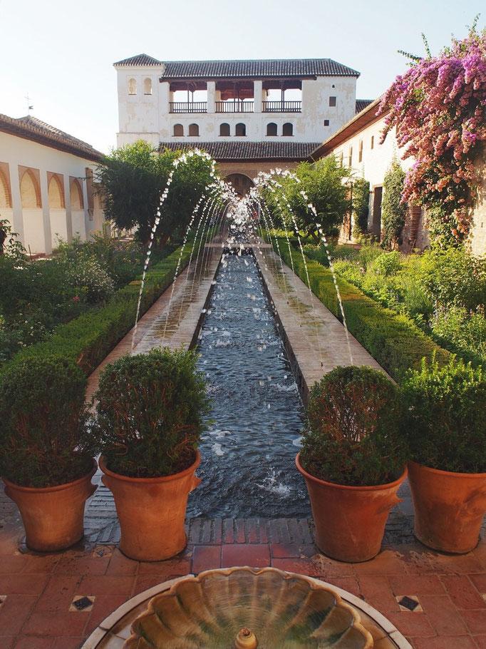 ヘネラリフェはアルハンブラ宮殿で1番好きな場所でした