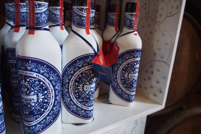 お土産のテキーラのボトルもかわいかったけど まだ日本に帰らないから...と断念