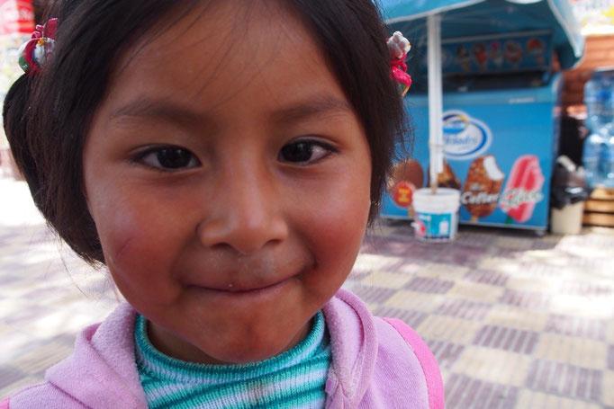 ボリビアの子どもって すごくかわいい♡