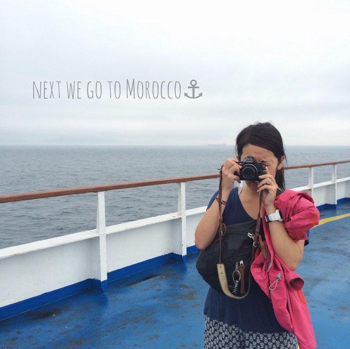 それでは いざジブラルタル海峡へ... 次はモロッコへ向かいます✈︎