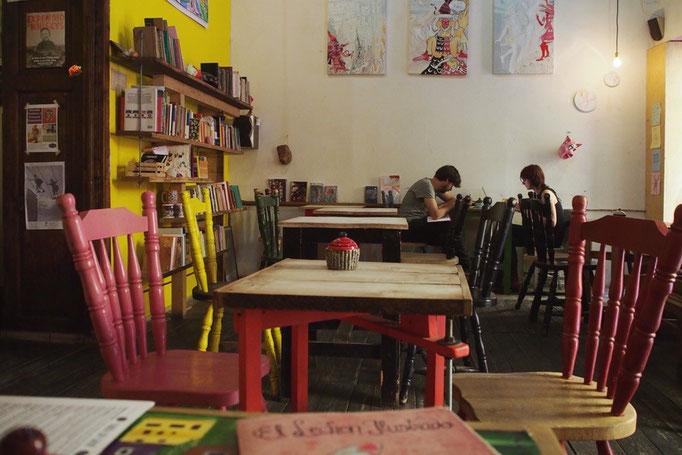 グアナファトの町はこじんまりとしている中に素敵なカフェがたくさん