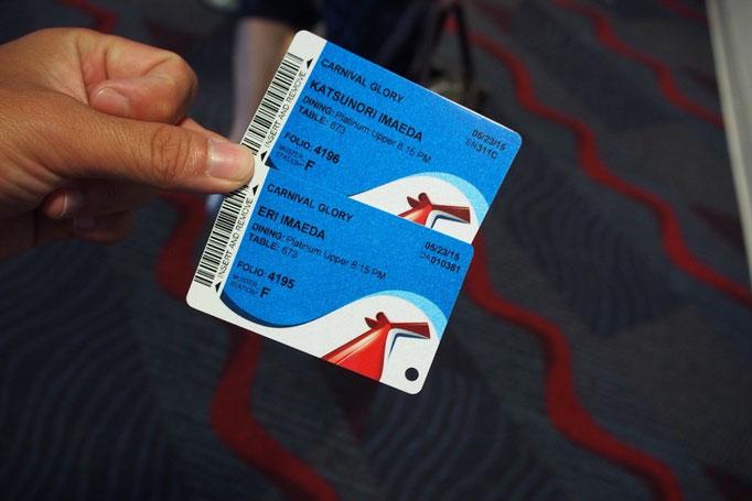 いろいろな島(国)での出入国はこのカード1枚でできるようになっていて 出入国の手続きも簡単♡
