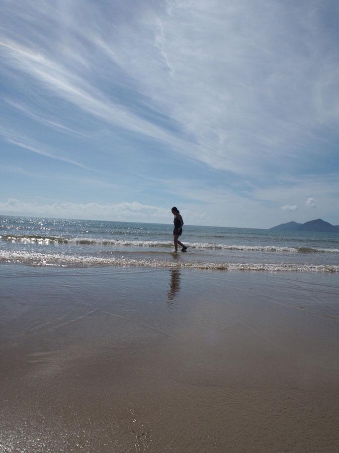 東海岸を南下したので 毎日好きなビーチに滞在して海を満喫