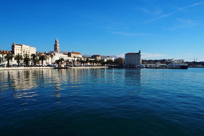 クロアチア出発日も びっくりするくらいの快晴