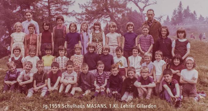 Schulklasse Masans, Churer59
