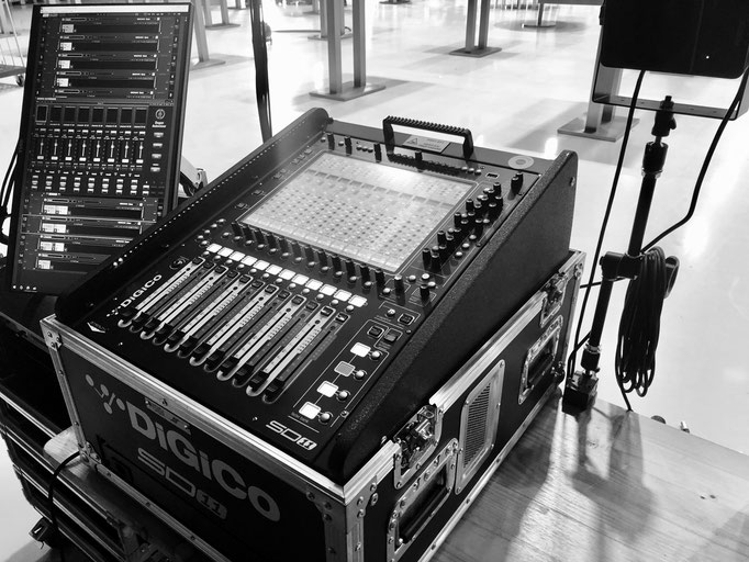 DiGiCo SD11i und Waves Multirack
