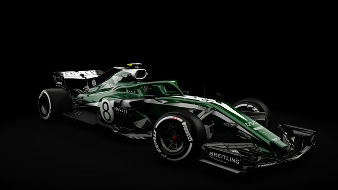RSS Formula Hybrid 2018 - Bentley Formula One Concept