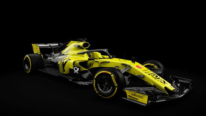 Formula Hybrid 2018 | Jordan Skinpack