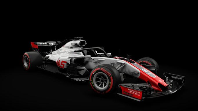 RSS Formula Hybrid 2018 , Haas VF-18 2018