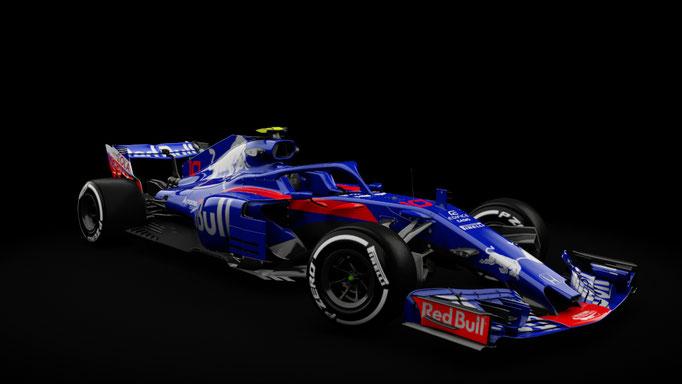 RSS Formula Hybrid 2018 , STR13 Toro Rosso 2018