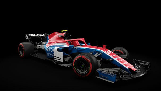 RSS Formula Hybrid 2018 - Manor F1