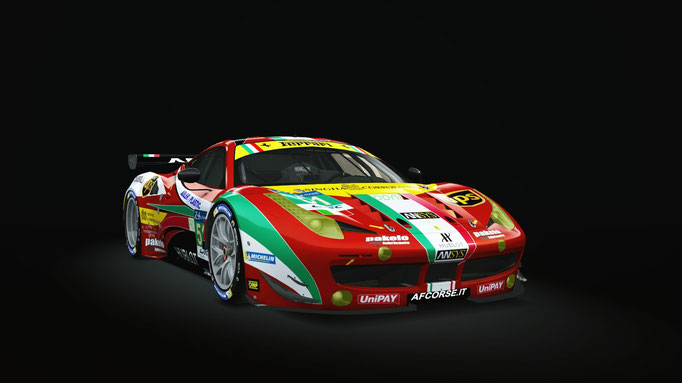 AFCorse Le Mans Winning