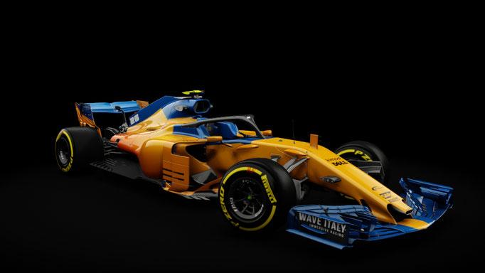 Alternate MCL33 Skin for Formula Hybrid 2018