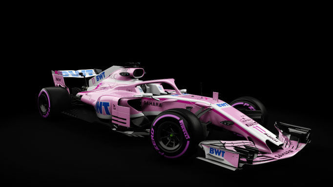 RSS Formula Hybrid 2018 , VJ11 Force India 2018