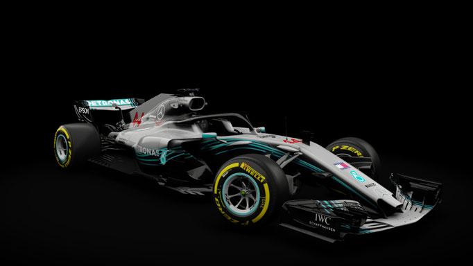 RSS Formula Hybrid 2018 - Mercedes W09