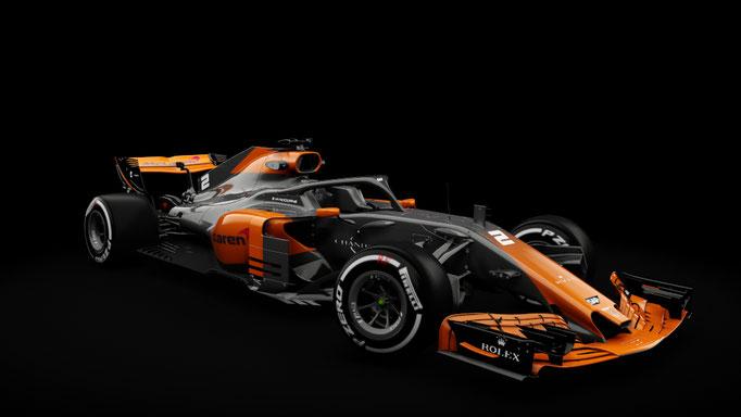 RSS Formula Hybrid 2018 - McLaren Fantasy skin