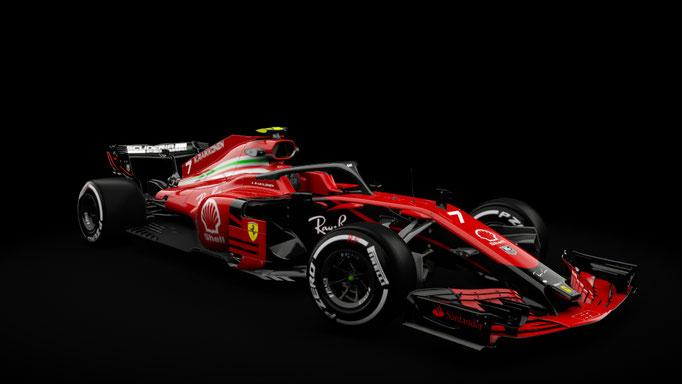RSS Formula Hybrid 2018 - Ferrari 2018 Fantasy skin