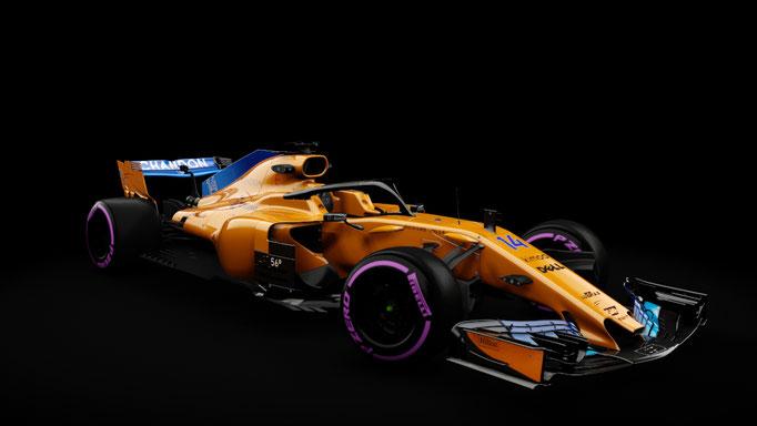 Formula Hybrid 2018 | McLaren MCL 33 2018