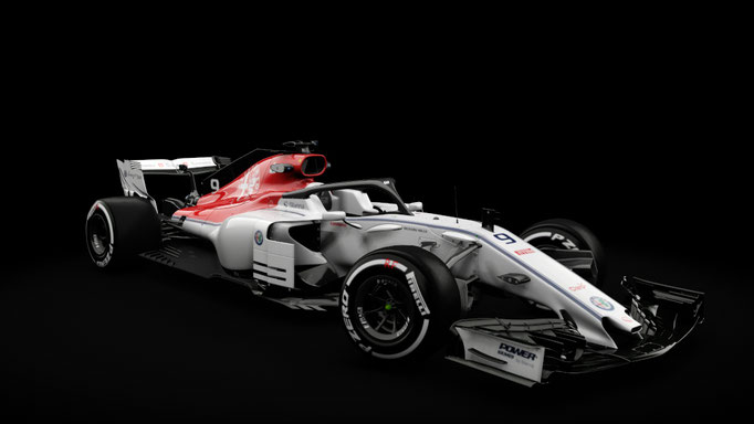 Sauber F1 - RSS Formula Hybrid 2018