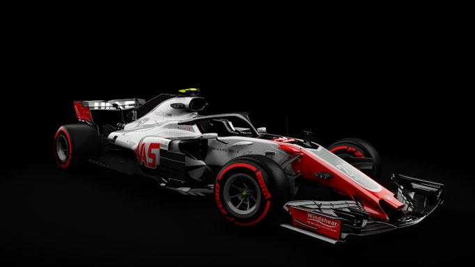2018 Haas VF-18 - RSS Formula Hybrid 2018
