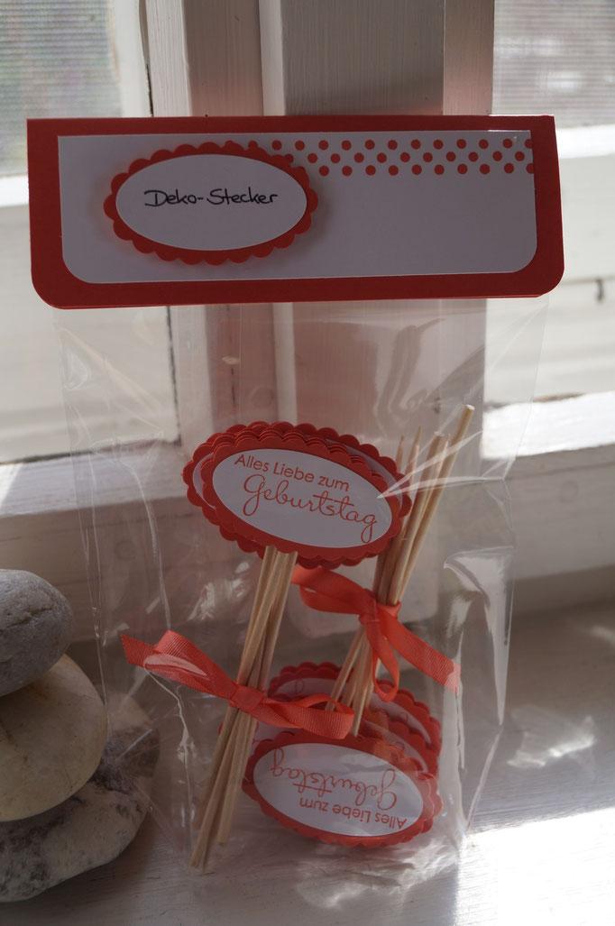 Deko-Stecker, z.B. für Muffins! - Patricia Stich 2015