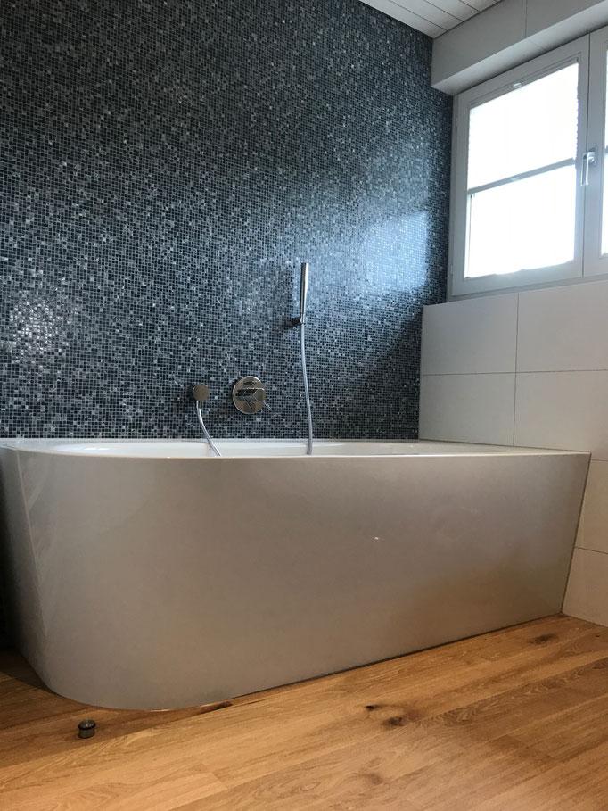 Mosaik Umbau Badezimmer Uttwil