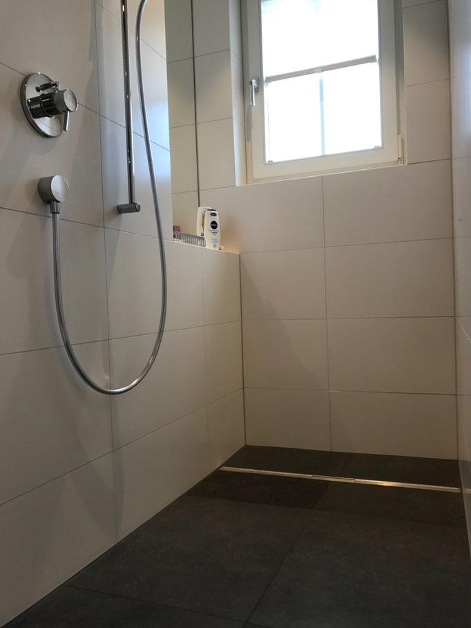 Umbau Dusche Badezimmer Keramik Uttwil