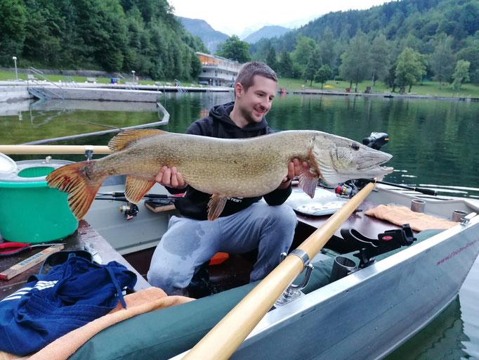114cm und 12kg - Gefangen am 10.06.2021 von Vereinsfischer Tom