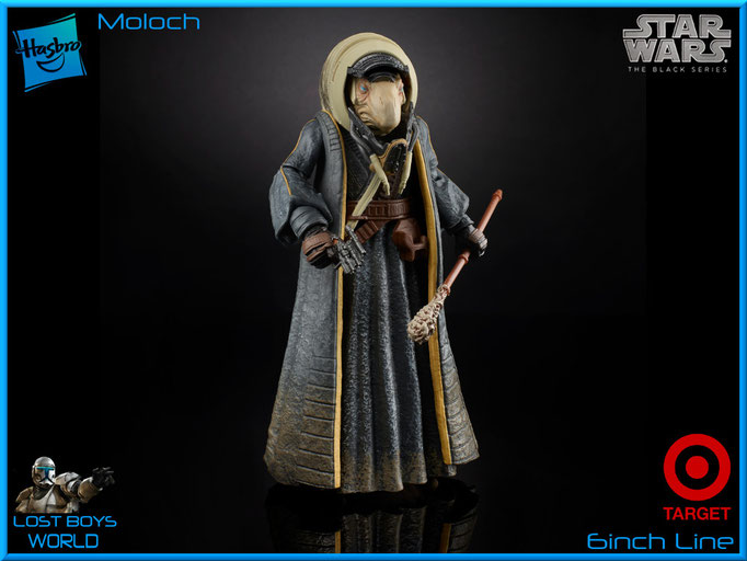 The Black Series - 6 Inch - Moloch - Target Exklusiv