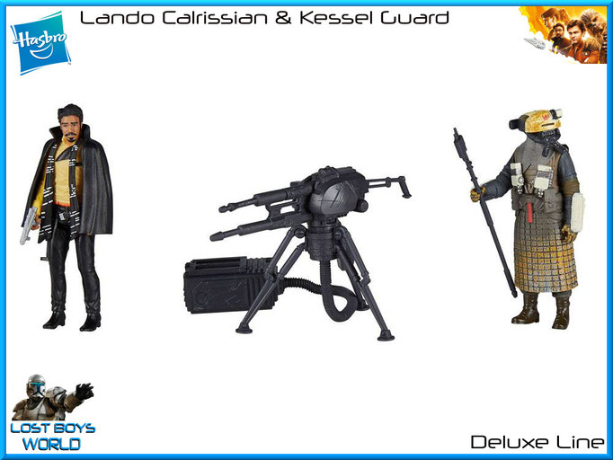Lando Calrissian & Kessel Guard