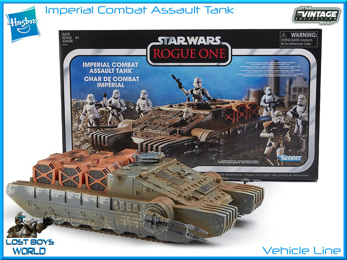 The Vintage Cllection - 3.75 Inch - Imperial Assault Combat Tank